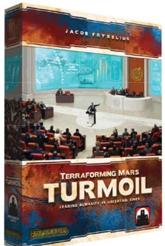 Terraforming Mars - Turmoil (NL) Kickstarter Versie