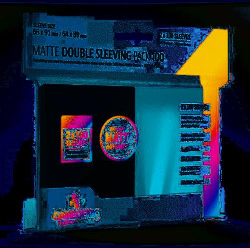 Sleeves Matte Double Sleeving Pack (100 stuks)