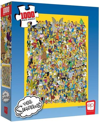 The Simpsons Cast of Thousands Puzzel (1000 stukjes)