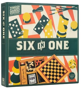 Six in One - Wooden Games