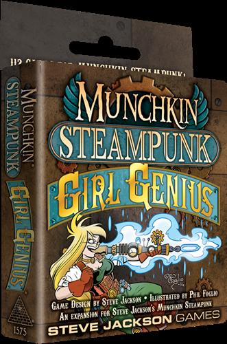 Munchkin - Steampunk Girl Genius