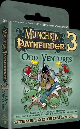 Munchkin Pathfinder - 3 Odd Ventures