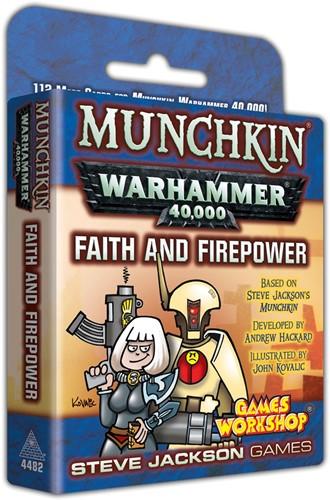 Munchkin - Warhammer 40k Faith and Firepower
