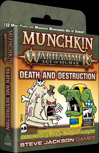 Munchkin Warhammer Age of Sigmar - Dead and Destruct