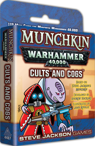 Munchkin Warhammer 40k - Cults and Cogs
