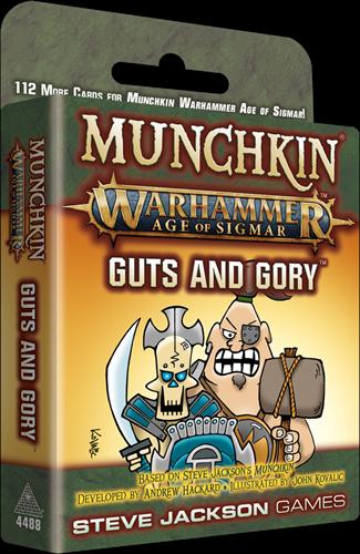 Munchkin Warhammer 40k - Guts and Gory