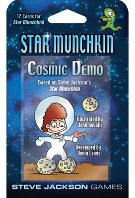 Star Munchkin Cosmic Demo Boosterpack