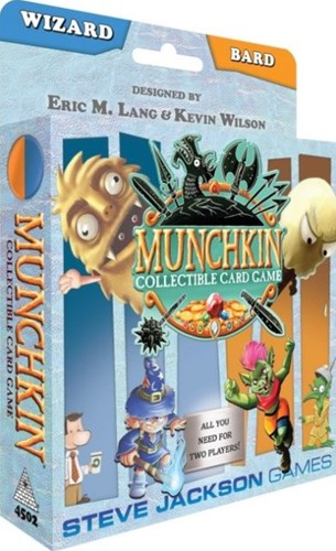 Munchkin TCG - Wizard / Bard Starter Set