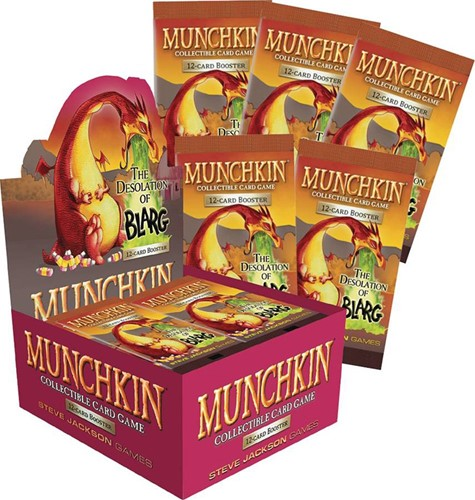 Munchkin TCG - The Desolation of Blarg Boosterbox