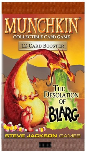 Munchkin TCG - The Desolation of Blarg Boosterpack
