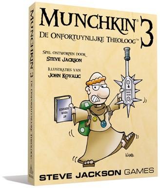 Munchkin 3 NL - De Onfortuinlijke Theoloog