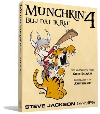 Munchkin 4 NL - Blij Dat Ik Rij
