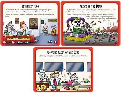 Munchkin Zombies 3 Hideous Hideouts-3