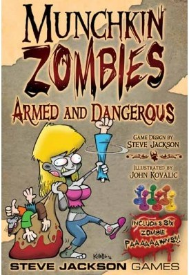 Munchkin Zombies Armed & Dangerous