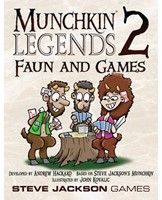 Munchkin Legends 2 Faun and Games-1