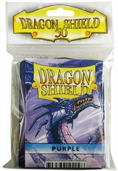 Dragon Shield Sleeves - Standard - Paars (63x88 mm)