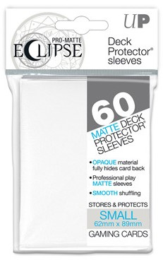 Sleeves Eclipse Pro-Matte - Small White (62x89 mm)