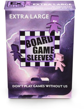Sleeves Non-Glare Board Game - Extra Large (65x100 mm)