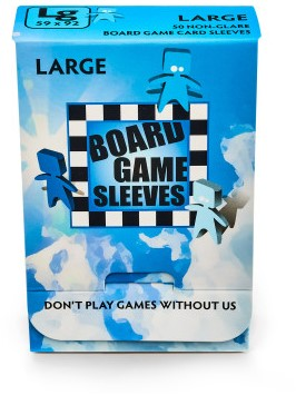 Sleeves Non Glare Board Game - Large (59x92 mm)-1