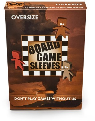Sleeves Non Glare Board Game- Oversize (82x124 mm)-1