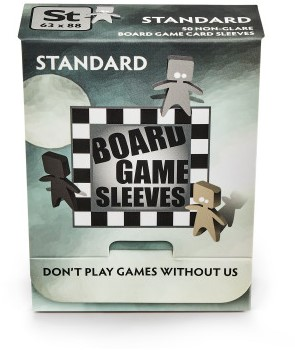 Sleeves Non-Glare Board Game - Standaard (63x88 mm)-1