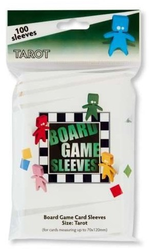 Board Game Sleeves - Tarot (70x120mm)