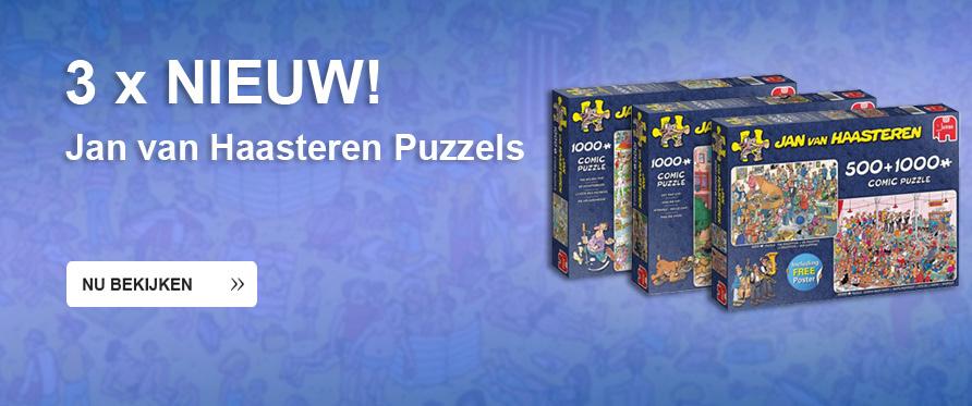 Nieuwe Jan van Haasteren puzzels