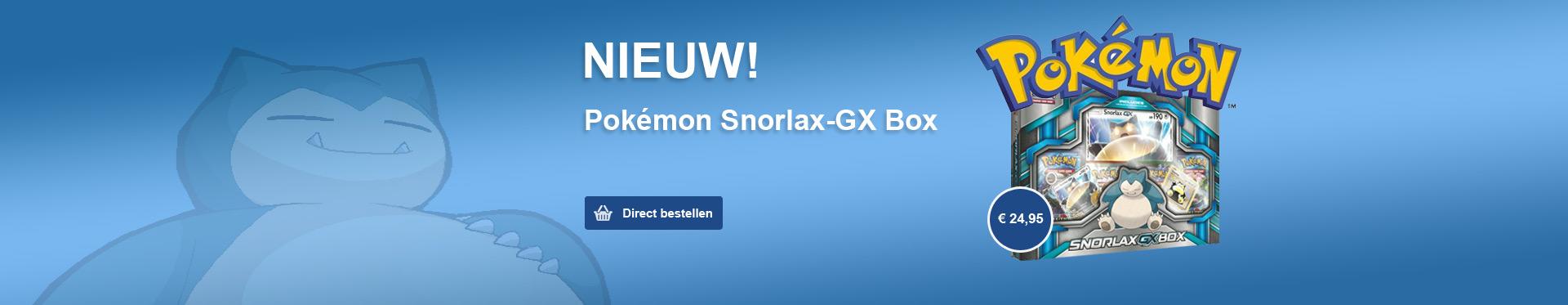 Pokemon Snorlax Box
