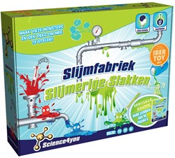 Slijmfabriek - Slijmerige Slakken - 17 Experimenten