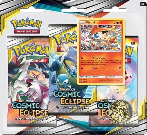 Pokemon Sun & Moon - Cosmic Eclipse Boosterblister