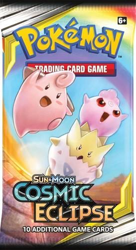 Pokemon Sun & Moon - Cosmic Eclipse Boosterpack