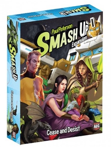 Smash Up - Cease and Desist Expansion