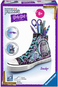 Ravensburger Girly Girl 3D puzzle: Sneaker animal print