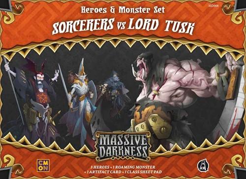 Massive Darkness - Sorcerers vs Lord Tusk