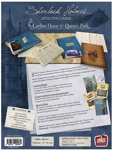 Sherlock Holmes - Carlton House & Queen