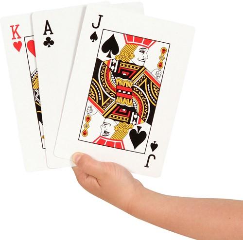Speelkaarten Groot (12x17 cm)