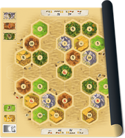 Speelmat Catan Basisspel - Scenario Desert
