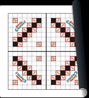 Speelmat Qwirkle Connect-1