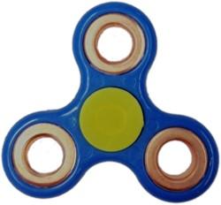 Fidget Spinner - Blauw / Bronze