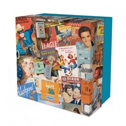 Spirit of the 50s Puzzel - Gift Box (500 stukjes)