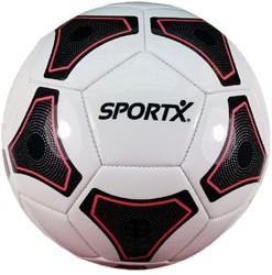 SportX - Voetbal Wit Zwart Rood