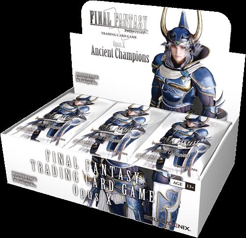 Final Fantasy - Opus 10 Boosterbox