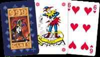 Standaard Kaartspel Blauw-2