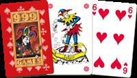 Standaard Kaartspel Rood-2