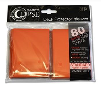 Sleeves Eclipse Pro-Matte - Oranje (66x91 mm)