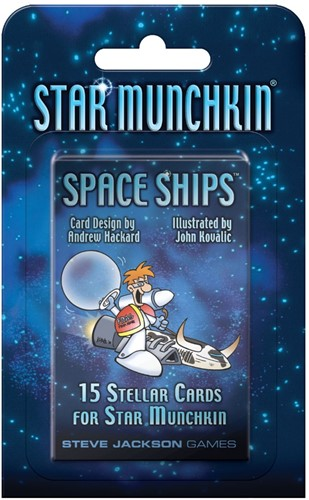 Star Munchkin Space Ships booster pack