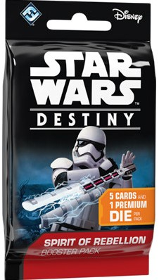 Star Wars Destiny - Spirit of Rebellion Boosterpack-1