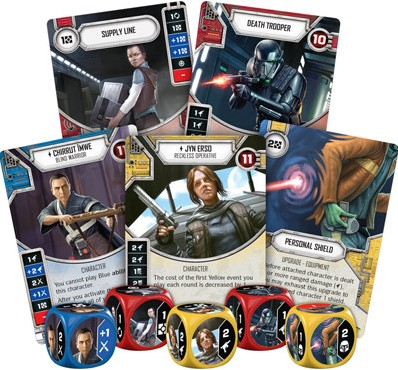 Star Wars Destiny - Spirit of Rebellion Boosterpack-2