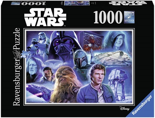 Star Wars VIII - Puzzel 2 (1000 stukjes)