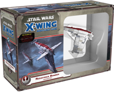 Star Wars X-Wing - Resistance Bomber